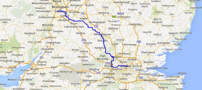 On A Narrowboat In 3 Weeks From Birmingham To London
