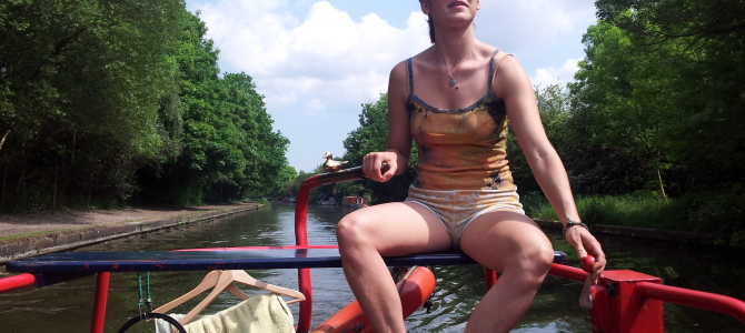 Narrow Boat living from a woman's point of view