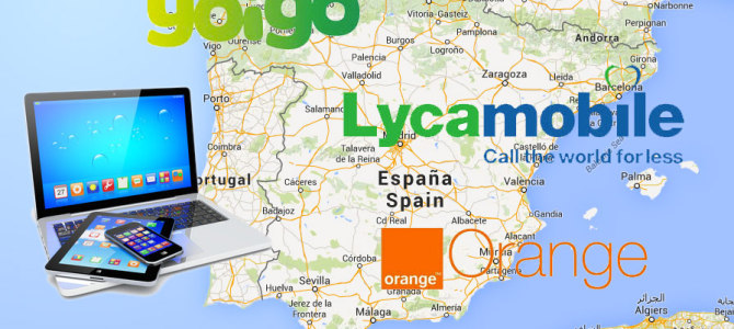 Mobile Internet Operators in Spain: A Personal Experience